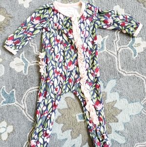 SweetHoney layette lounge one piece baby outfit